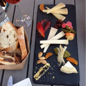 Our cheeseboard from Sona Creamery, DC